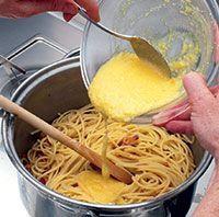 Cómo preparar pasta carbonara