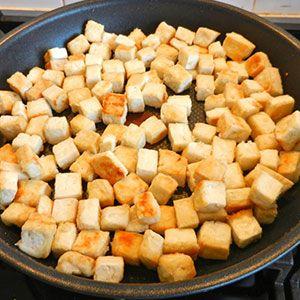 Preparamos el tofu